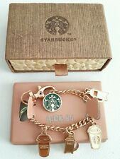 Indonesia Starbucks Bag Charms Pendants Bracelet Keyholder Keychain Accessories