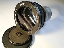 LOMO ANAMORPHIC 35 NAP 2-2 F=80:120 1:2 USSR MOVIE PROJECTOR LENS