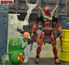 "6""VI6 Deadpool Action Figure Marvel legends X-men Doop&Comic Series6 ToyBiz Gift"