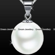 S925 Sterling Silver Pearl Necklace Christmas Birthday Valentines Gift for her