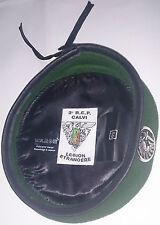 Béret Vert avec insigne TAP PARA 2°REP LEGION ÉTRANGÈRE Taille * Size XL / TT 59