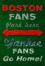 YANKEE FANS GO HOME POSTER 24x36 - ROBERT DOWNS BOSTON RED SOX 36407