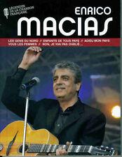 19889 // ENRICO MACIAS LIVRE COLLECTOR + CD 12 TITRES NEUF