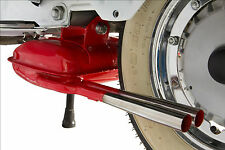 VESPA PX 200 E DISC 1998 on RED SIP ROAD 2 TWIN TAILPIPE EXHAUST