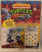 "Teenage Mutant Ninja Turtles TMNT 1990 ""Wacky Action"" - Wacky Walkin' Mouser MOC"