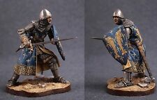 Tin toy soldiers ELITE painted 54 mm Italian Knight - End XIII  Beginning XIV Ce