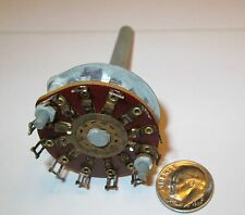 CRL PHENOLIC ROTARY SWITCH  1 POLE - 11  POSITIONS   NON SHORTING   1 PCS.  NOS