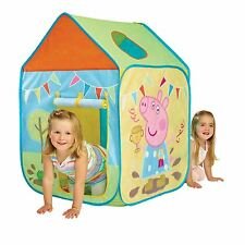 PEPPA PIG Wendy House Gioca Tenda NEW KIDS Indoor & Outdoor attivo Play Free P+P