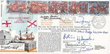 400th Anniv of  Armada Flown Signed HMS Alacrity Capt C J S Craig Plus 6