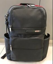 NEW Tumi Black & Red Accent Compact Backpack Travel Luggage Carry On Bag #263162