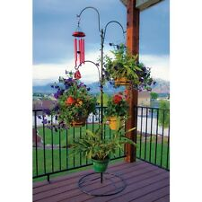 Plant Stand Hanging Holder Basket Patio Outdoor Flower Decor Garden Planter New