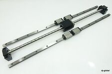 Linear Actuator Parts for fast Lathe THK SR15W+700mm LM Guide Bearing 1520+723mm