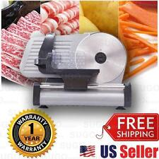 "PRO 8.7"" Blade Premium Meat Slicer Electric Deli Veggie Cutter Kitchen HEAVYDUTY"