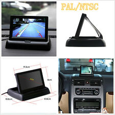 4.3 Inches Vehicle LCD TFT Digital Monitor For Reversing Parking Camera VCR DVD