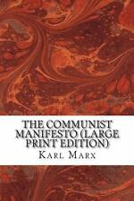 2DAY SHIPPING | The Communist Manifesto (Large Print Edition), PAPERBACK, 2013