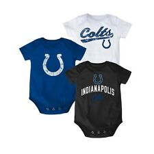 Indianapolis Colts 3 PIECE nfl INFANT BABY NEWBORN Jersey 0-3M 0-3 Months