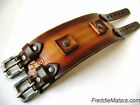 Johnny Depp Leather Watchband* Cuff Custom Made in NYC!