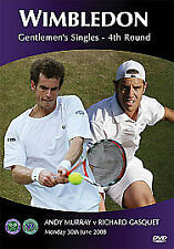Brand New Shrinkwrapped Wimbledon 2008 Classic Matches - Murray V Gasquet (DVD)
