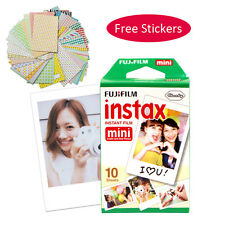 10 Sheets Fujifilm Instax Mini Instant Film Fuji Camera Mini 8 7s 25 50 SP-1