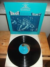 """Miklos Rozsa And The Frankenland State Symphony Orchestra """"Ben Hur Vol. 2"""" LP"""