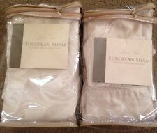 Rose Tree Crystal Collection Euro Shams(PAIR)-26x26-New-$100 Retail