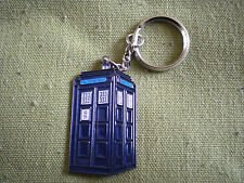 POLICE BOX  DOCTOR WHO TARDIS, 50mm KEY RING