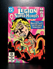 COMICS: DC: Legion of Super-Heroes #299 (1980s) - RARE (flash/batman/wonder)