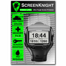 Screenknight Garmin Forerunner 910xt Protector De Pantalla Invisible Militar Escudo