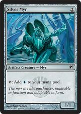 4x Myr d'Argento - Silver Myr MTG MAGIC SoM Scars of Mirrodin English