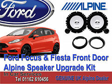 FORD FIESTA 2005-2016 Alpine Front Door Speaker Tweeter Upgrade 280W