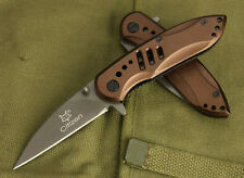 Assisted Opening Fox-X09 Pocket Knife Outdoor Survival Rescue Camping Xmas Gift