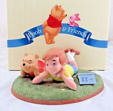 """Disney Pooh & Friends """"What I Like Best is Just Being with You"""" in Box"""