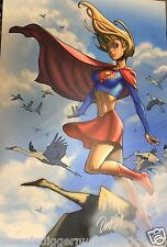 Authentic SUPER GIRL Ryan Odagawa Autographed HIGH QUALITY PRINT 11x17