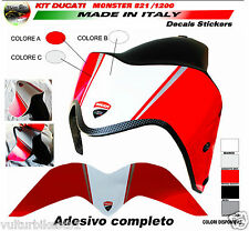 adesivo fascia per parafango ducati monster 821 1200 design monster 1200R (V344)