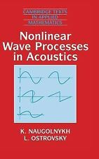 Nonlinear Wave Processes in Acoustics (Cambridge Texts in Applied Math-ExLibrary