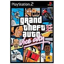 Grand Theft Auto Vice City PS2 Playstation 2 Complete w/Map FREE SHIPPING GTA