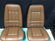 Ford Xa Gt Sedan Seat Trim Covers Full Set In Proper Saddle,aussie Made