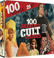 100 Movie NEW 25 DVD set (Cult Classics, Embryo, Cave Girl [Cindy Ann Thompson])