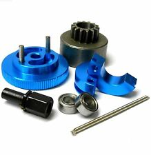 T10095 1/10 RC Alliage 2 Chaussure 14T Kit Embrayage Bleu Flywheel / Roulements