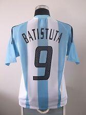 Gabriel BATISTUTA #9 Argentina Home Football Shirt Jersey 2002-2004 (M)
