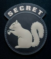 BLACK OPS ISAF USA ARMY SECRET SQUIRREL SWAT PVC RUBBER VELCRO® BRAND PATCH