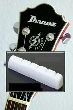 GeetarGizmos SLOTTED BONE NUT made for Ibanez Guitar