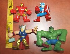 Marvel Super Hero Squad lot AVENGERS Iron Man hulk thor captain America iron man
