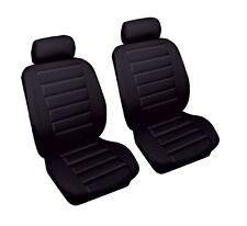 Aspecto de cuero del asiento de coche cubre Negra Ford Ranger 99-05 Frontal Par Airbag Listo