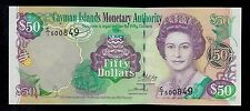 CAYMAN ISLANDS 50 DOLLARS  2003   C/1  PICK # 32a UNC  BANKNOTE.