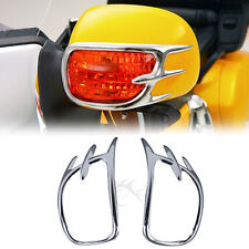 Chrome Turn Signal Lights Decoration Trims For 01-11 Honda GL1800 GOLDWING New