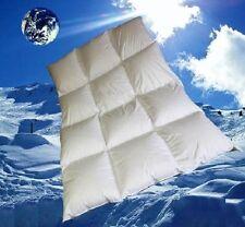 Winter Kassetten Daunendecke 4x4, 200x200 cm 100% sibir.Gänsedaunen