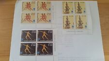 2002 Greece Stamps Athens 2004 The Ancient Games Block of 4 Set MNH