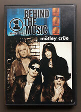 MOTLEY CRUE - VH1 Behind The Music DVD 2001 VG+/EX Condition Super RARE OOP