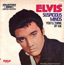 """7"""" Elvis Presley – Suspicious Minds / Mono Collectors Series // US"""
